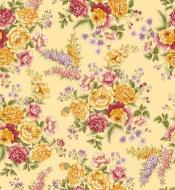 OUT OF PRINT Laurel Cottage Bouquet Buttercup Yellow 1173-33