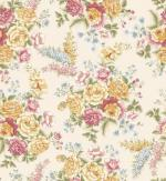 OUT OF PRINT Laurel Cottage Bouquet Cream 1173-77