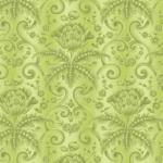 OUT OF PRINT: Laurel Cottage Damask Moss Green 1175-44