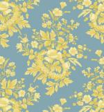 OUT OF PRINT: Laurel Cottage Toile Pond Blue 1176-55