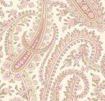 OUT OF PRINT: Laurel Cottage Paisley Strawberry Pink 1177-28