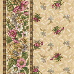 Meadow Blossom Stripe Almond 1312-01