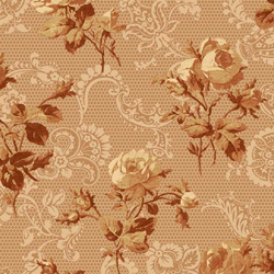 OUT OF PRINT: Kate's Lace Cinnamon 1315-21