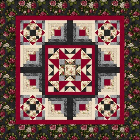 Village Square Quilt Pattern