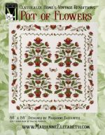 Pot of Flowers or Pride of Iowa Quilt Pattern