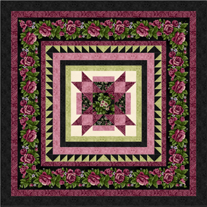 HARLOW COUNTRY Quilt Top Kit MIDNIGHT BLACK