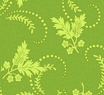 OUT OF PRINT Laurel Cottage Dainty Sprig Green 1178-46