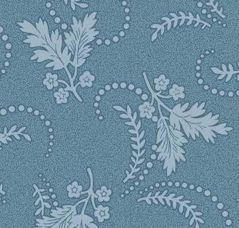 OUT OF PRINT Laurel Cottage Dainty Pond Blue 1178-55