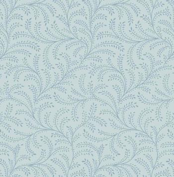 OUT OF PRINT Laurel Cottage Enchanting Vine Pale Aqua Blue 1180-05