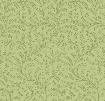 OUT OF PRINT Laurel Cottage Enchanting Vine Moss Green 1180-44