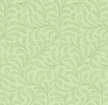 OUT OF PRINT Laurel Cottage Enchanting Vine Pale Moss Green 1180-04