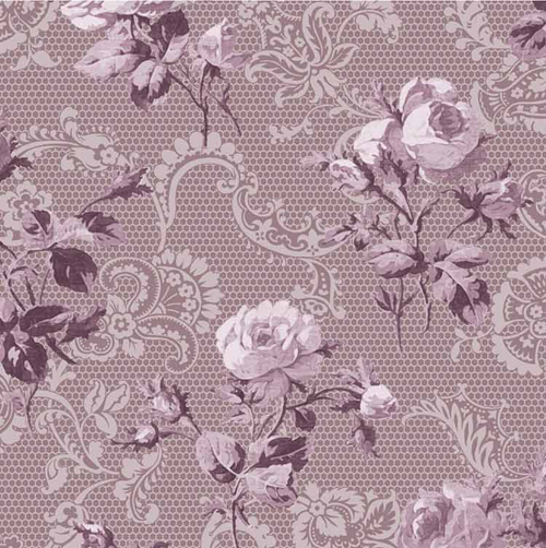 OUT OF PRINT: Kate's Lace Lavender 1315-02