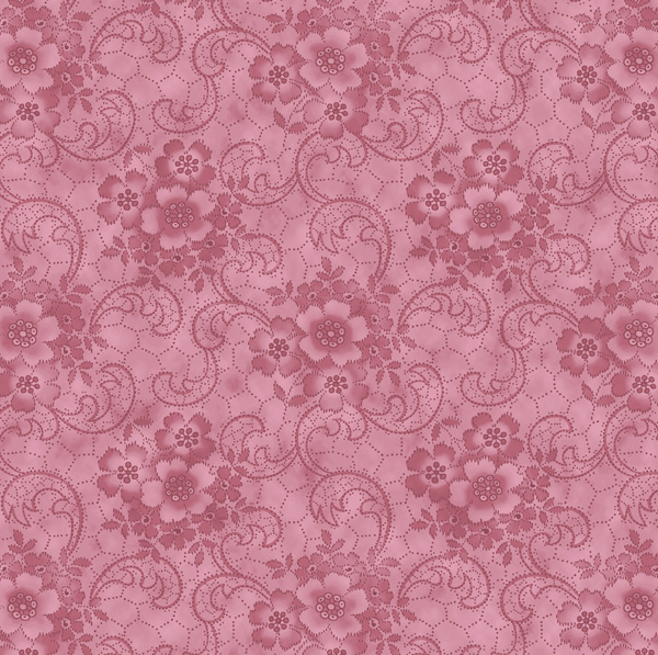 "Harlow: Glamour Girls fabric in the color ""Flamingo"" pink 2231-01"