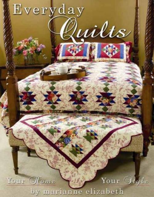 OUT OF PRINT:  Everyday Quilts by Marianne Elizabeth