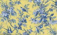 Toile De Giverny Citron Yellow