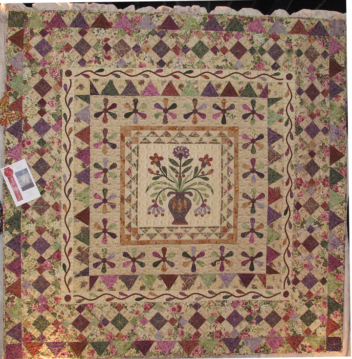 Harmony Rose Quilt Pattern