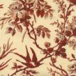 OUT OF PRINT Toile De Giverny  Cream/Red 1003-10