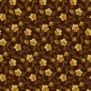 OUT OF PRINT: Marleigh Strawberry Vine Espresso Brown 1131-78 3/4 yard