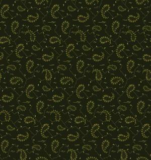 OUT OF PRINT:  Tuilleries Chantilly Paisley 1132-44 Forest Green