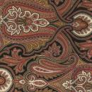 OUT OF PRINT Tuilleries Marseille Paisley Ivory/Black 1125-11