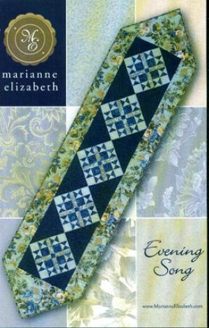 Evening Song Table Runner Quilt Pattern