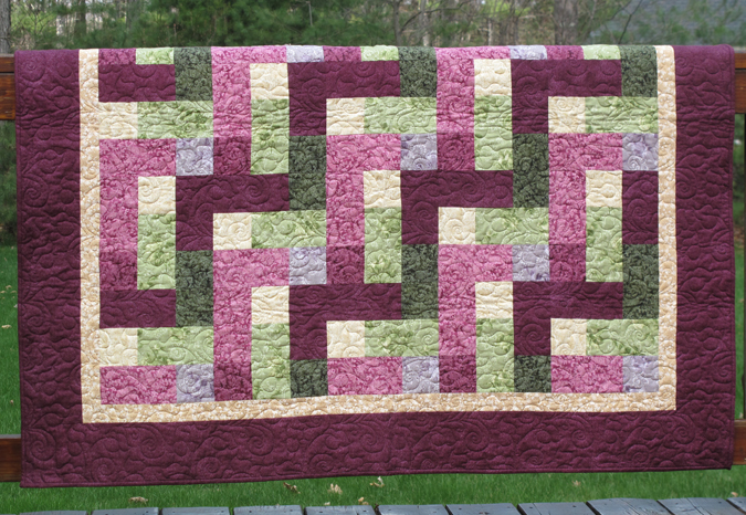 NEW: Mystic Garden Quilt Top Kit