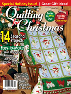 QUILTED FOR CHRISTMAS 2013
